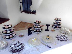 Mesa dulce preparada